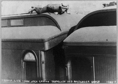 Jack London Hobo 1907