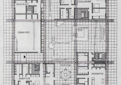 Miller House - Eero Saarinen 1952 (1)