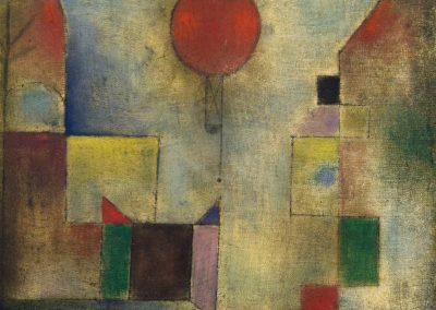 Red balloon - Paul Klee (1922)