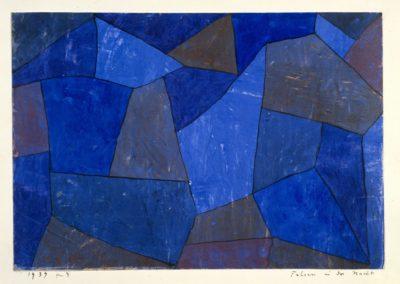 Rocks at night - Paul Klee (1939)