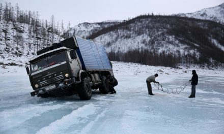 On Siberia's ice highway – Amos Chapple