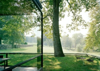 The glass house - Philip Johnson 1948 (10)