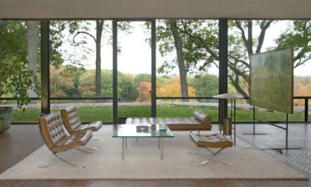 The glass house – Philip Johnson