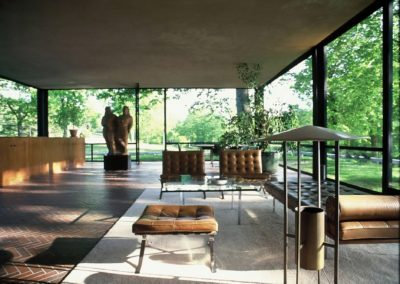 The glass house - Philip Johnson 1948 (5)
