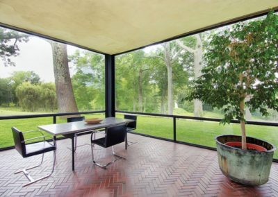 The glass house - Philip Johnson 1948 (7)