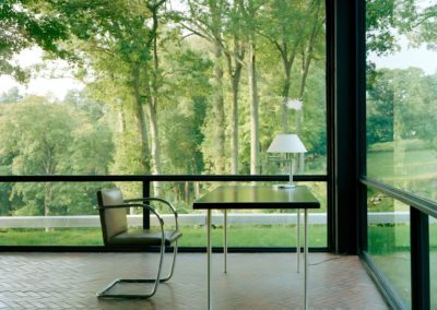 The glass house - Philip Johnson 1948 (9)