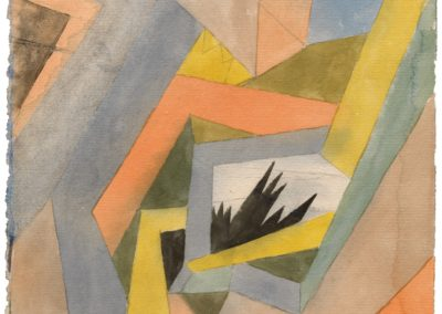 The idea of firs - Paul Klee (1917)