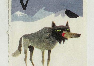 V - Abécédaire - Staffan Wirén 1960 (16)