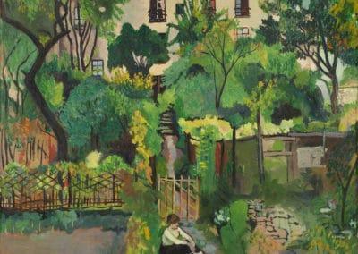 12 rue Cortot, Montmartre - Suzanne Valadon (1919)
