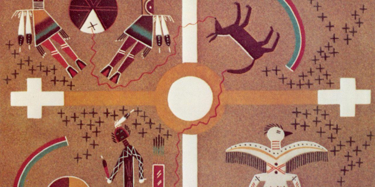 Peintures de sable Navajos