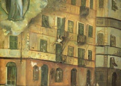 Ex-votos italiens de chute au XIXème (8)