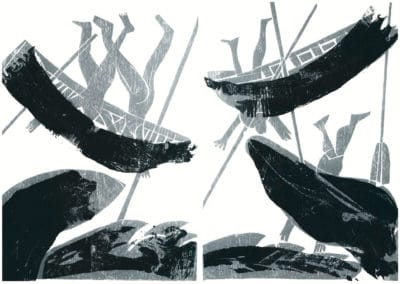 Gravures sur bois - HAP Grieshaber 1960 (10)