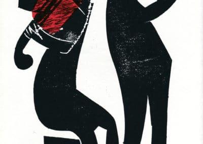 Gravures sur bois - HAP Grieshaber 1960 (3)