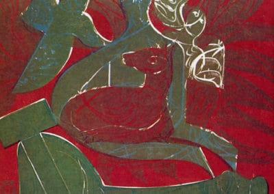 Gravures sur bois - HAP Grieshaber 1960 (4)