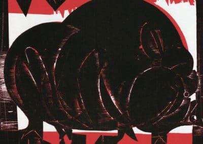 Gravures sur bois - HAP Grieshaber 1960 (7)