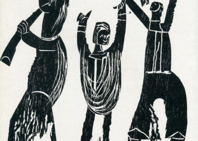 Gravures sur bois - HAP Grieshaber 1960 (8)