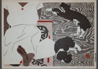 Gravures sur bois - Hashimoto Okiie 1960 (1)