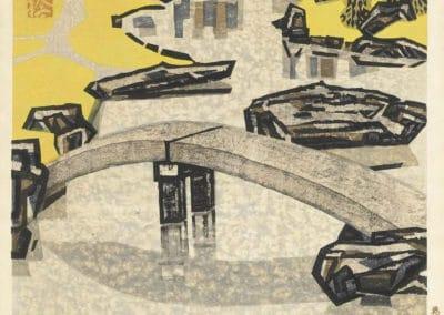 Gravures sur bois - Hashimoto Okiie 1960 (10)