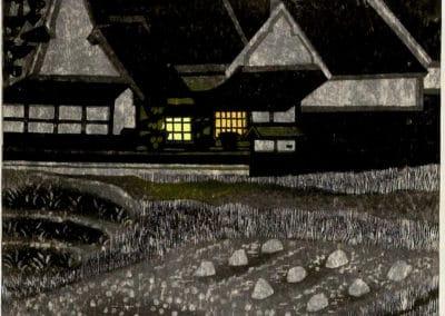 Gravures sur bois - Hashimoto Okiie 1960 (11)