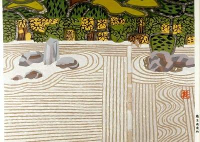Gravures sur bois - Hashimoto Okiie 1960 (12)