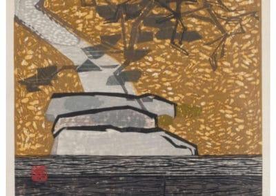 Gravures sur bois - Hashimoto Okiie 1960 (13)