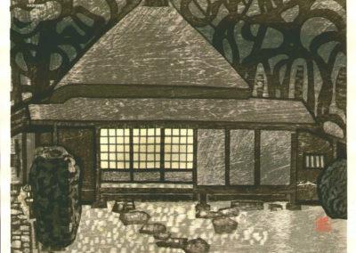Gravures sur bois - Hashimoto Okiie 1960 (15)
