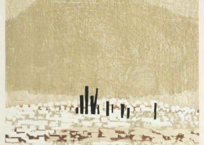 Gravures sur bois - Hashimoto Okiie 1960 (17)
