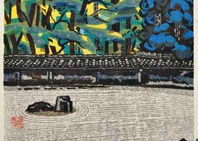 Gravures sur bois - Hashimoto Okiie 1960 (20)
