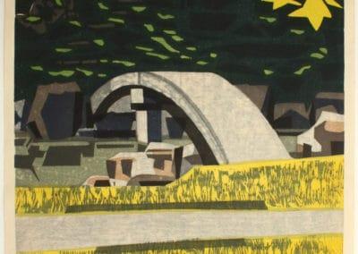 Gravures sur bois - Hashimoto Okiie 1960 (22)