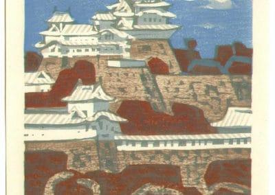 Gravures sur bois - Hashimoto Okiie 1960 (23)
