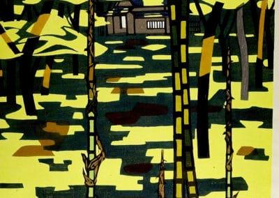 Gravures sur bois - Hashimoto Okiie 1960 (25)