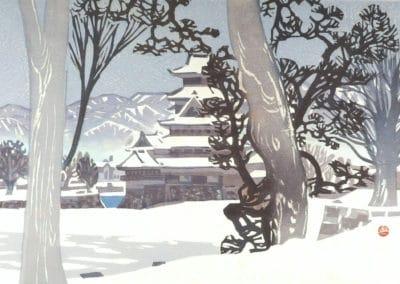 Gravures sur bois - Hashimoto Okiie 1960 (30)