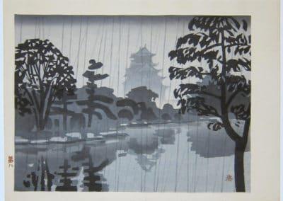 Gravures sur bois - Hashimoto Okiie 1960 (4)