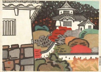 Gravures sur bois - Hashimoto Okiie 1960 (5)