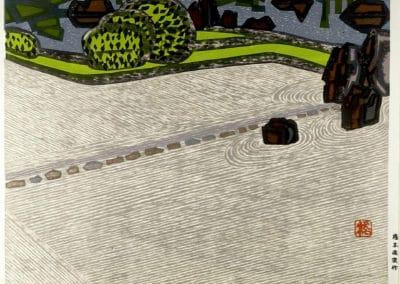 Gravures sur bois - Hashimoto Okiie 1960 (7)