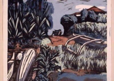 Gravures sur bois - Hashimoto Okiie 1960 (8)