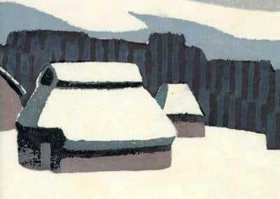 Gravures sur bois - Hashimoto Okiie 1960 (9)