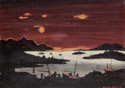 Irish sea - Fred Uhlman (1941)