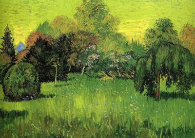 Le jardin du poète - Vincent van Gogh (1888)