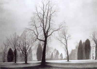 Le parc - Léon Spilliaert (1944)
