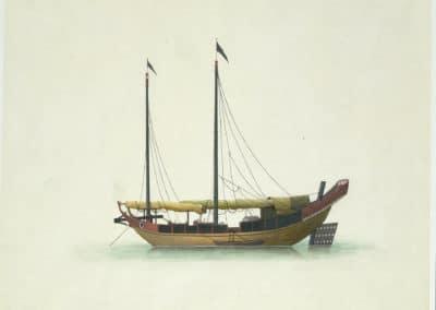 Les bateaux de la rivière des perles 1820 (19)