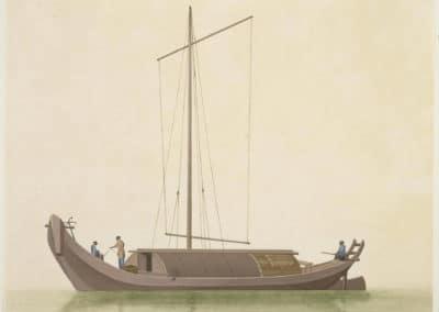 Les bateaux de la rivière des perles 1820 (23)