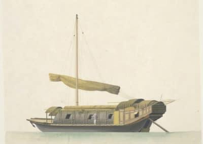 Les bateaux de la rivière des perles 1820 (3)