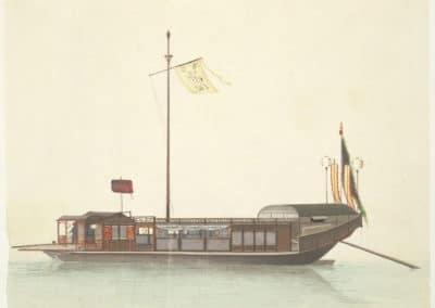 Les bateaux de la rivière des perles 1820 (5)