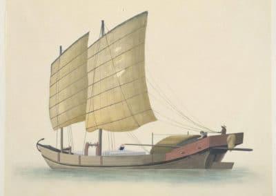 Les bateaux de la rivière des perles 1820 (6)