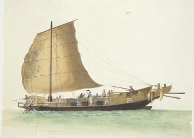 Les bateaux de la rivière des perles 1820 (8)