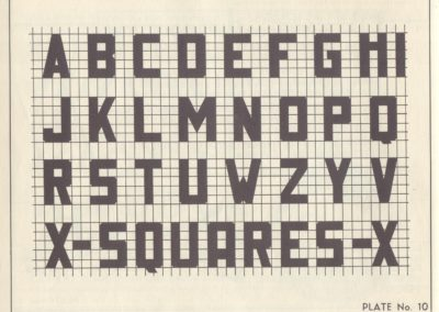 Lettering - Harry B. Wright 1962 (11)