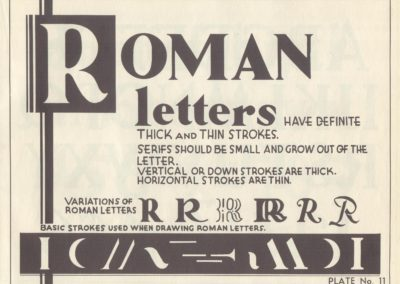 Lettering - Harry B. Wright 1962 (12)