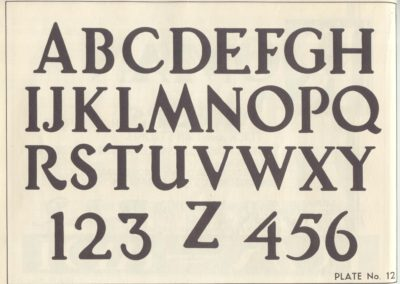 Lettering - Harry B. Wright 1962 (13)