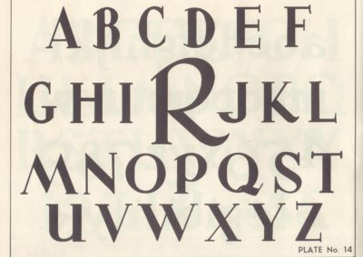 Lettering - Harry B. Wright 1962 (15)